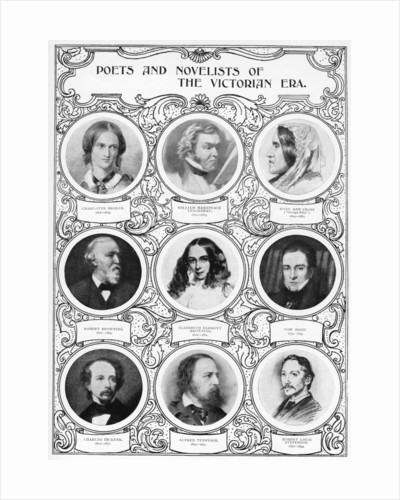 Poets and Novelists of the Victorian Era by Anonymous