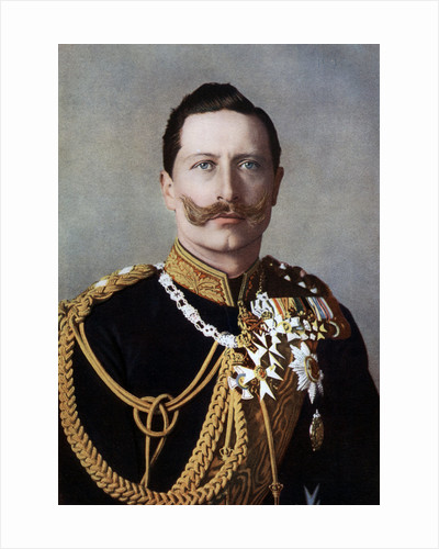Wilhelm II, Emperor of Germany and King of Prussia by Reichard & Lindner