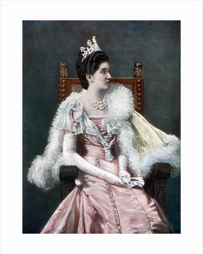 Queen Elena of Italy by Giacomo Brogi