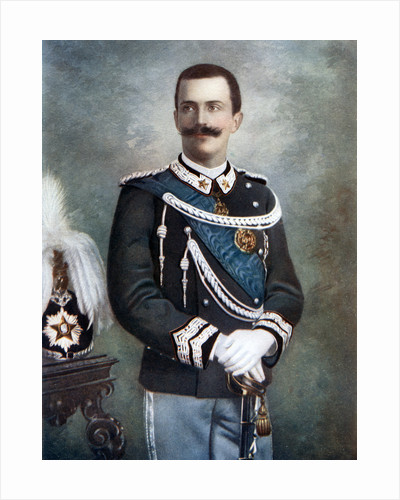 Victor Emmanuel III, King of Italy by Giacomo Brogi