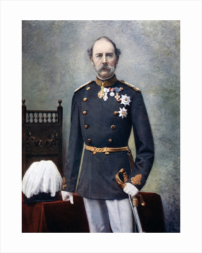 King Christian IX of Denmark by Anonymous