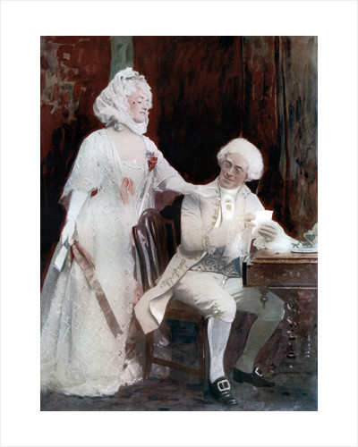 Winifred Emery and Cyril Maud in The School for Scandal by Window & Grove