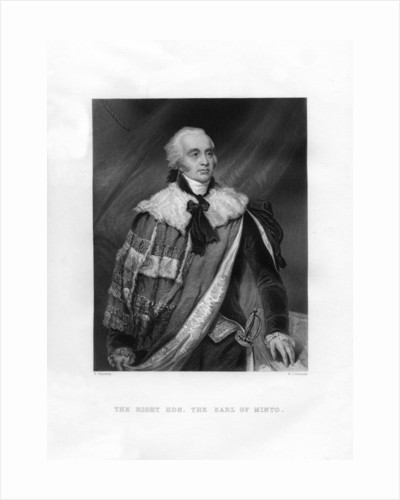 Gilbert Elliot Murray-Kynynmound, 1st Earl of Minto by WJ Edwards