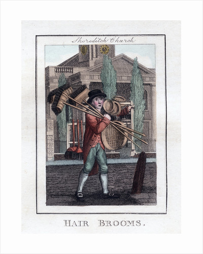 Hair Brooms by Anonymous