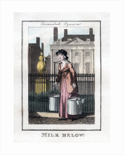 Milk Below! by Anonymous