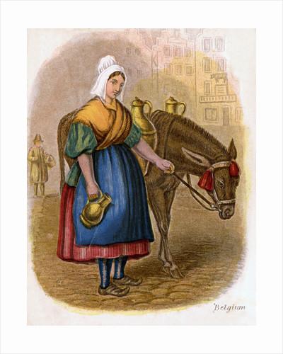 Belgian Milk-Woman by W Dickes