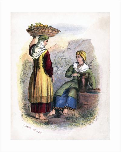Two Greek Women by Anonymous