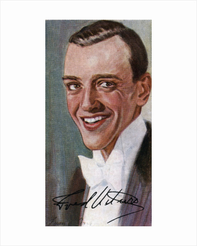 Fred Astaire, (1899-1987), American film and Broadway stage dancer, actor by Anonymous