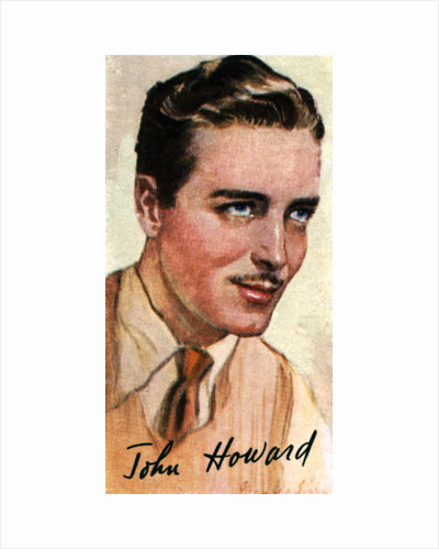 John Howard, (1913-1995), American actor by Anonymous