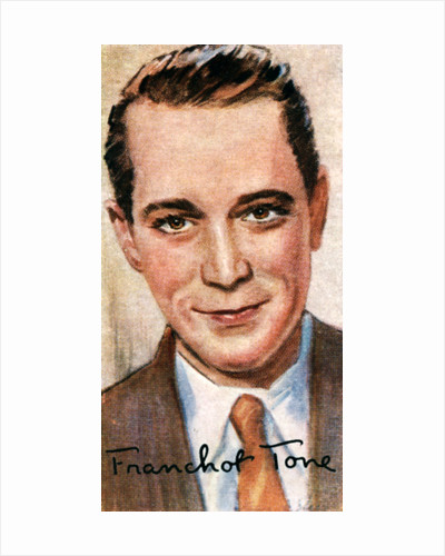 Franchot Tone, (1905-1968), American actor by Anonymous