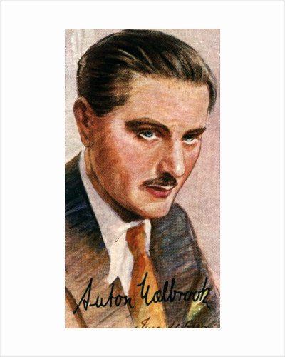 Anton Walbrook, (1896-1967), Austrian actor by Anonymous
