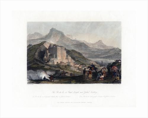 'The Poo Ta La, or Great Temple near Zhehol, Tartary', China by James Tingle