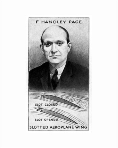 Sir Frederick Handley Page, English industrialist by Anonymous