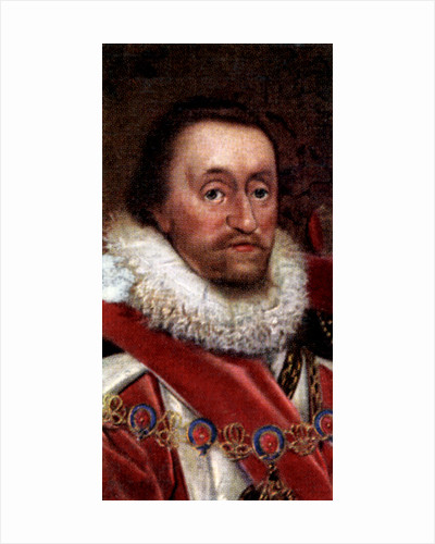 James VI of Scotland, James I of England and Ireland by Anonymous