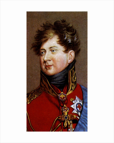 King George IV by Anonymous