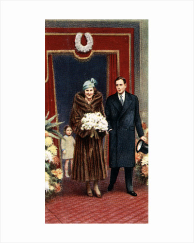 The marriage of the Duke and Duchess of Kent, November 1934 by Anonymous