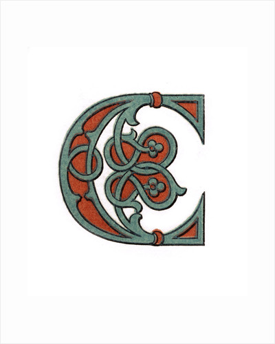 Initial letter 'C' by Henry Shaw