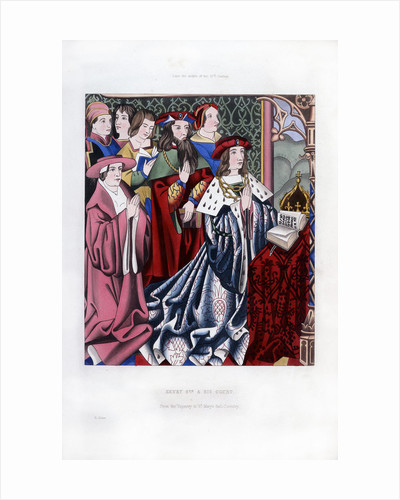Henry VI and his court by Henry Shaw