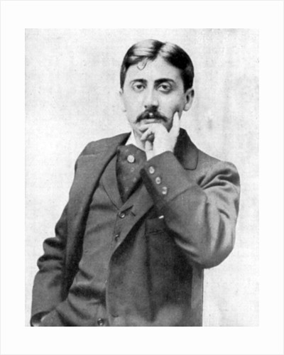 Marcel Proust, French intellectual, novelist, essayist and critic by Otto