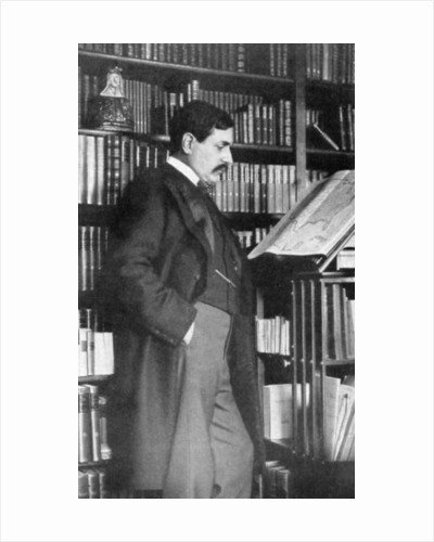 Paul Bourget, French novelist and critic by Anonymous