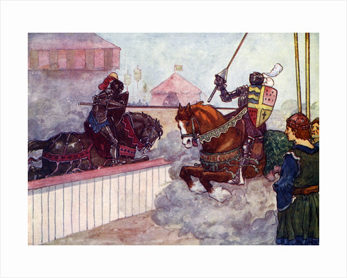The Count rode again and again at Edward till his lance was splintered in his hand by A S Forrest