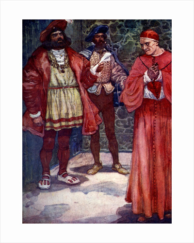 Henry sent Wolsey away from court by A S Forrest