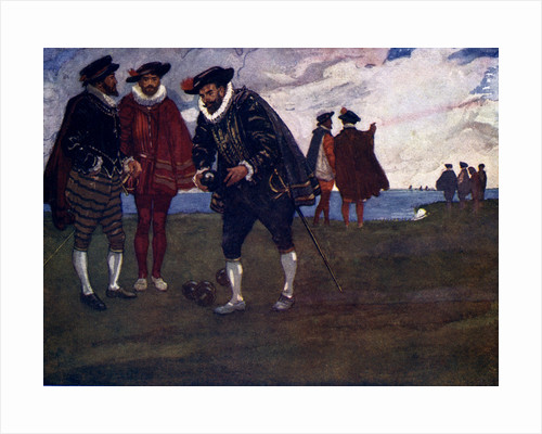There is time to finish the game and beat the Spaniards too, said Drake by A S Forrest