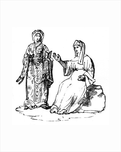 Anglo-Saxon costume by Anonymous