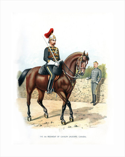 The 6th Regiment of Cavalry (Hussars, Canada) by H Bunnett