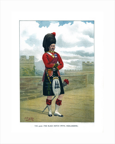 The 42nd, The Black Watch (Royal Highlanders) by Geoffrey Douglas Giles