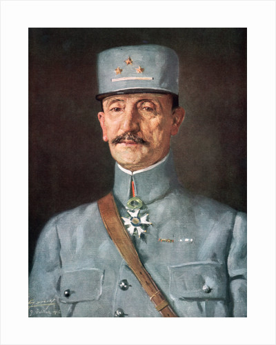 General Mazel, French army officer during World War I by Juilliet