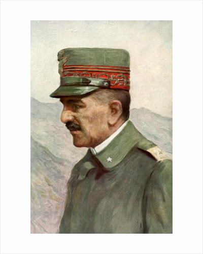 Armando Diaz, Italian First World War general by Anonymous