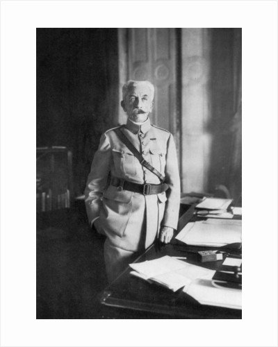 Hubert Lyautey, French First World War general and Minister of War by Anonymous