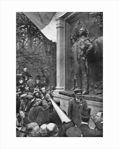 Marshal Joffre's tribute to the Marquis de Lafayette, Prospect Park, Brooklyn, New York, USA by Anonymous