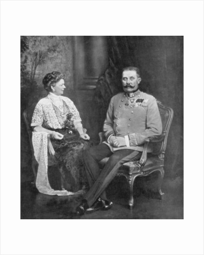 Archduke Franz Ferdinand of Austria and the Sophie, Duchess of Hohenberg by Anonymous