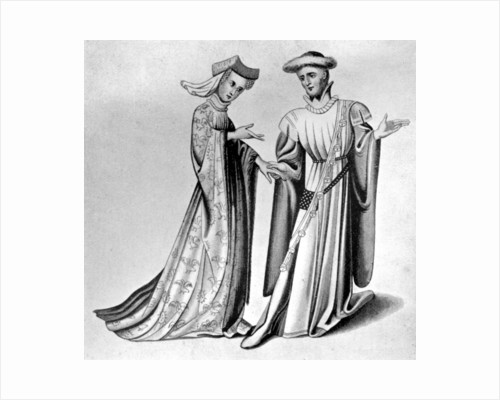 Male and female dress by Anonymous
