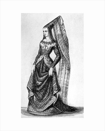 The steeple headdress and veil by Anonymous