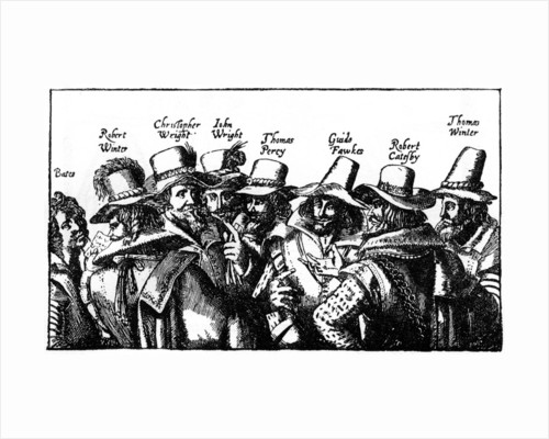 The Gunpowder Plotters by Anonymous