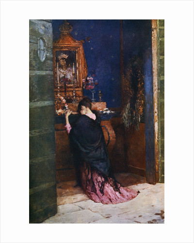 A Prayer to the Madonna by Maurice Bompard