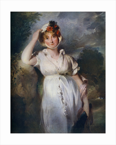 Caroline Amelia Elizabeth of Brunswick by Thomas Lawrence