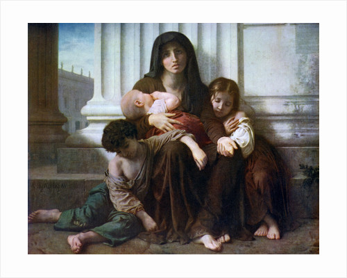 Charity or The Indigent Family by William-Adolphe Bouguereau