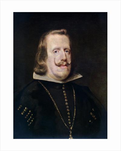 Philip IV of Spain by Diego Velasquez
