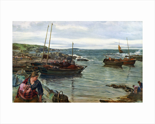 Home with the Tide by James Clarke Hook