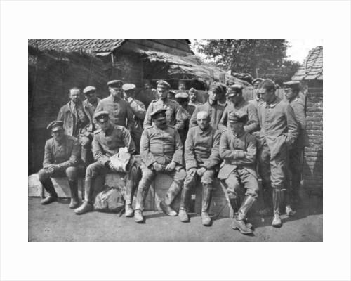 German prisoners of war, Ypres, Belgium by Anonymous