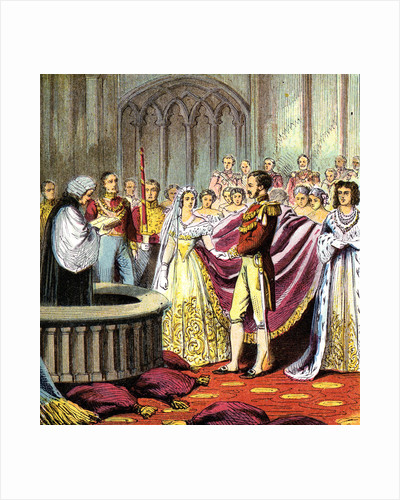 Marriage of Queen Victoria by Anonymous