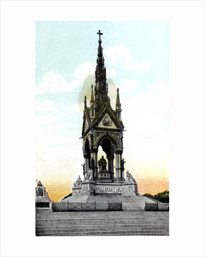 Albert Memorial, London by Anonymous