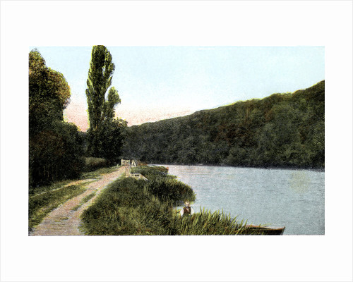 Towing path alongside the Thames, Maidenhead, Berkshire by Anonymous