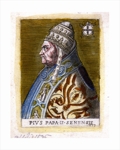 Pope Pius II, (c19th century) by Anonymous