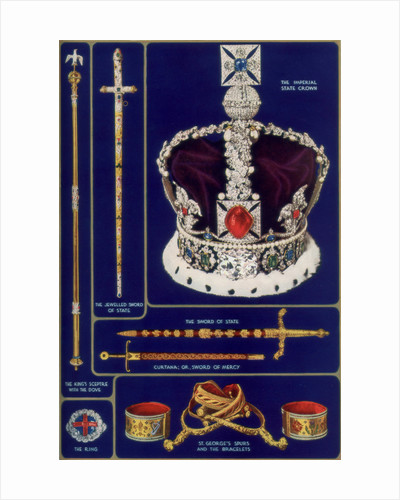 Crown Jewels of the United Kingdom by Anonymous
