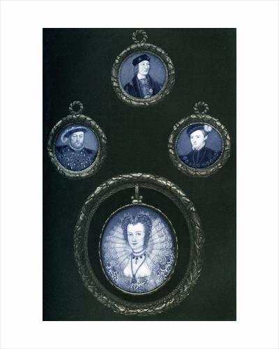 Henry VII, Henry VIII, Edward VI, Elizabeth I by Anonymous